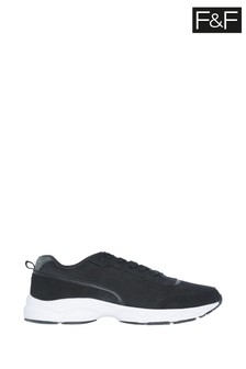 F&F Black Jersey Performance Trainers
