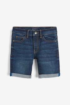 Dark Blue Denim Shorts (3-16yrs)