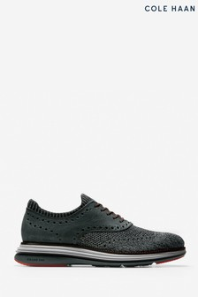 Cole Haan Black OriginalGrand Ultra Stitchlite Ox Shoes