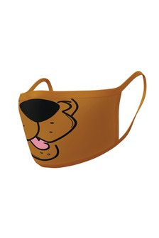 Brown Scooby Doo Adult Face Covering