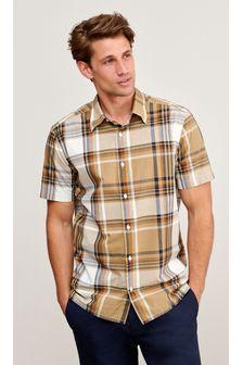 Stone Check Short Sleeve Shirt
