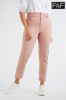 F&F Pink Mom Jeans