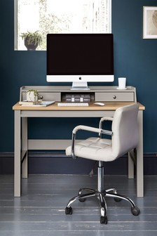 Dove Grey Malvern Desk