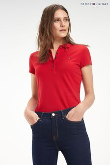 Tommy Hilfiger Red Heritage Slim Polo