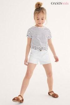 Oasis Crochet Trim Shorts