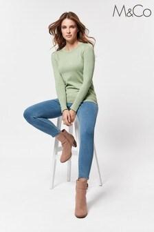 M&Co Petite Blue Jegging Jeans
