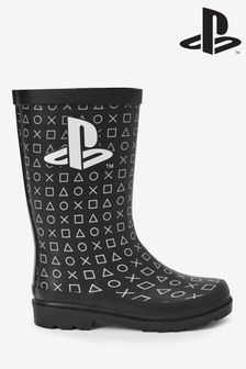 Monochrome PlayStation™ Wellies (Older)