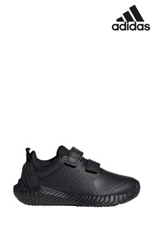 adidas Train Black FortaGym Junior And Youth Velcro Trainers