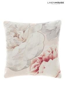 Sansa Large Floral Cushion by Linen House