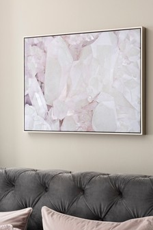 Iridescent Gemstone Canvas