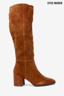 Steve Madden Brown Fersa Boots
