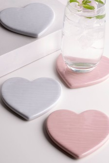 Set of 4 Coasters In Holder
