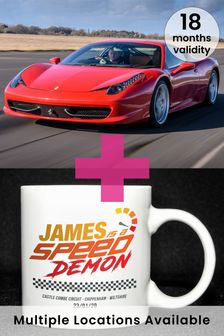 The Perfect Gift for Speed Demons Gift Experience by
