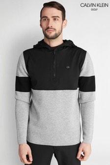 Calvin Klein Golf Grey Yosemite Hooded Sweater