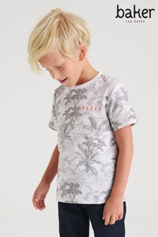 Baker by Ted Baker Boys Camo T-Shirt