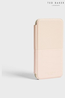 Ted Baker Ruubina Pink Croc Mirror Iphone 12 Pro Max Case