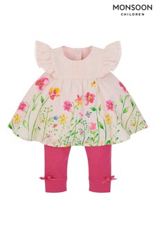 Monsoon Pink Newborn Wild Flower Set
