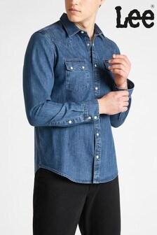 Lee® Rider Regular Fit Denim Shirt