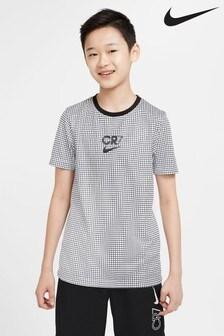 Nike Black/White CR7 T-Shirt