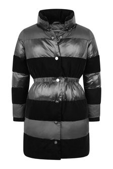Girls Black Padded Coat