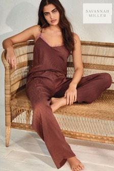 Rust Savannah Miller Pyjama Set