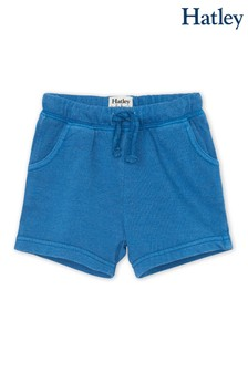 Hatley Moroccan Blue Baby Cotton Blend Shorts