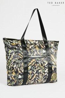 Ted Baker Black Aleahh Urban Nylon Tote Bag
