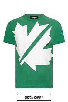 Kids Cotton Branded T-Shirt