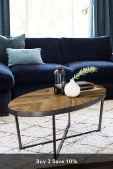 Bronx Chevron Coffee Table
