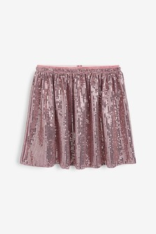 Pink Foil Skirt (3-16yrs)