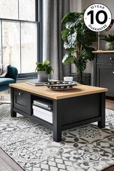 Black Malvern Storage Coffee Table