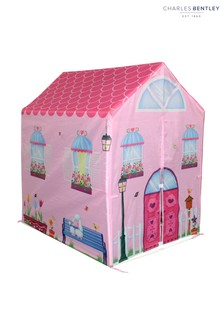 Charles Bentley Pink Childrens Playhouse Play Tent