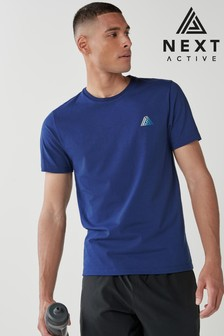 Dark Blue Next Active Sports T-Shirt