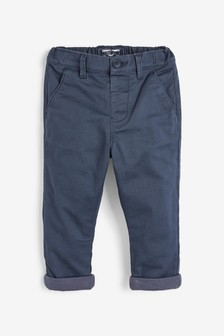 Blue Lined Chinos (3mths-7yrs)