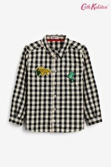 Cath Kidston Gingham Check Long Sleeve Oliver Shirt