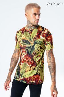 Hype. Mens Multi Jungle Kitten T-Shirt