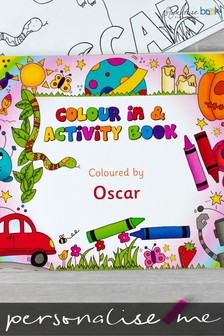 Personalised A4 Colour In Activity Book by Signature Book Publishing