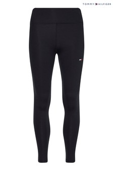 Tommy Hilfiger Black High Waist Leggings