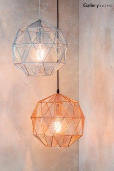 Armour Pendant Light by Gallery Direct