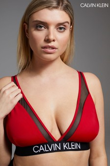 Calvin Klein Red CK Curve Triangle Bikini