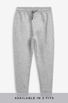 Grey Slim Fit Cuffed Joggers (3-16yrs)