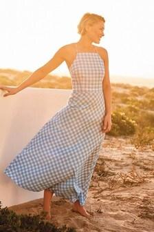 Gingham Emma Willis Strappy Dress