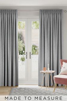 Soft Marl Grey Made to Measure Curtains by