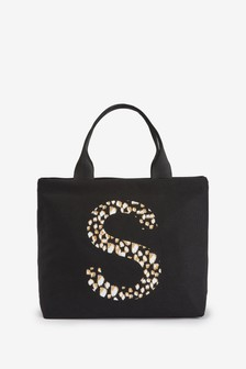 Black Animal Lunch Bag