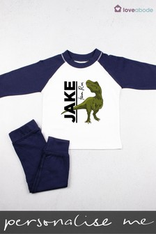 Personalised Team Rex Pyjamas by Loveabode