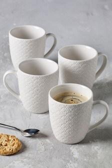 Set of 4 Sadie Mugs
