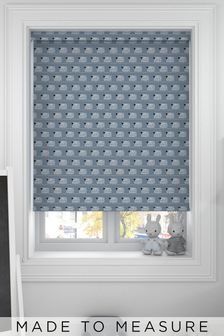Sheep Slate Blue Made To Measure Roller Blind