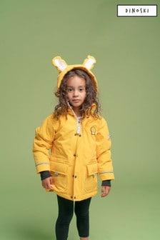 Dinoski Yellow Cub Lion Coat