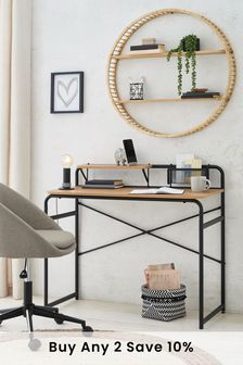 Black Elliot Compact Desk