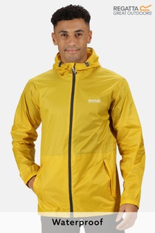 Regatta Yellow Pack It Waterproof Jacket
